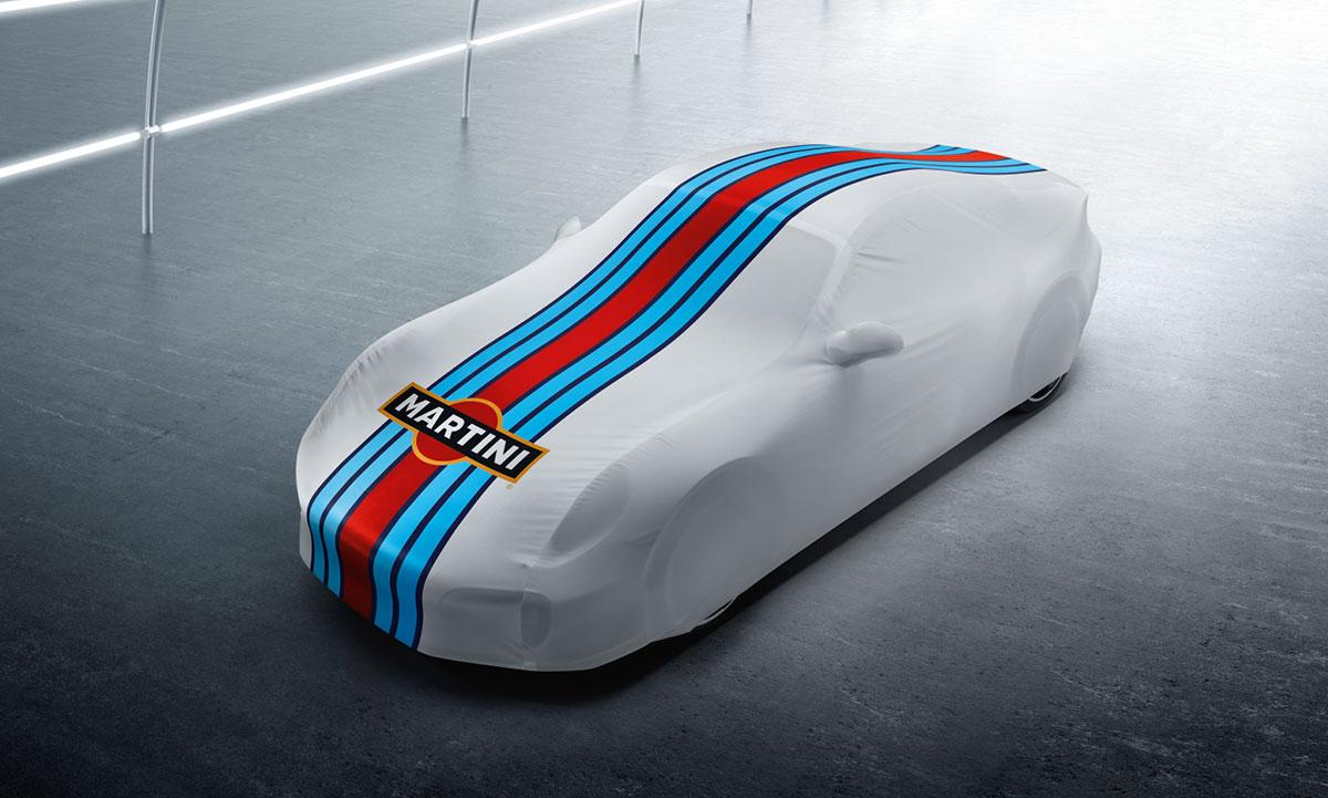indoor car cover martini racing design 911 type 991 tequipment porsche driver 39 s selection. Black Bedroom Furniture Sets. Home Design Ideas