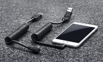 スマートフォン充電用USBケーブル iPhone 用
