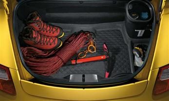 Rear cargo liner low-sided 987