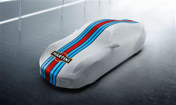 "Indoor-Car-Cover ""Martini Racing Design"" - Sport Design Paket"