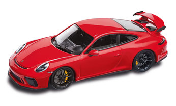 911 GT3, DieCast, guards red/black, 1:43
