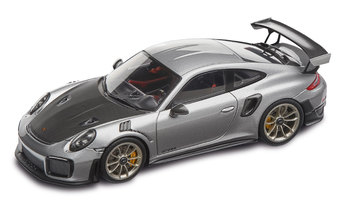 911 GT2 RS, plata GT metalizado/negro, 1:43 - Limited Edition