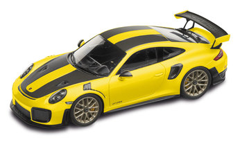 911 GT2 RS,  Paquete Weissach, amarillo racing/negro, 1:43 - Limited Edition