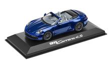 911 (992) Carrera 4S Cabriolet, gentian blue metallic, 1:43