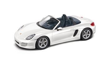 Boxster (981), carrarawhite/yachtingblue, 1:43