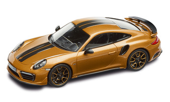 911 Turbo S Exclusive Series – Limited Edition; goldgelbmetallic; 1:43