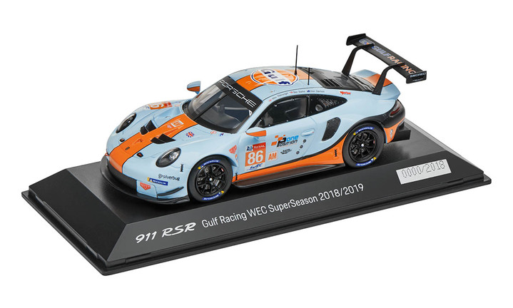 Limited Edition 1:43 Model Car   911 RSR 2018 Gulf Racing