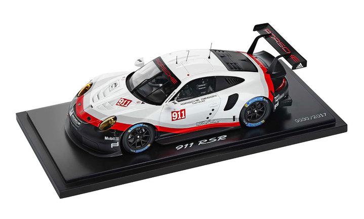 911 Rsr 2017 Blackwhitered 118 911 Model Cars Porsche