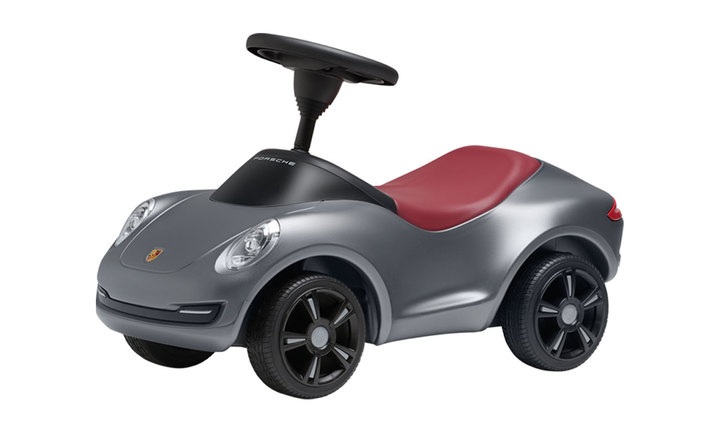 Baby Porsche 4S Silver Grey