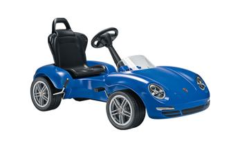 911 (991) Kids pedal car, blue