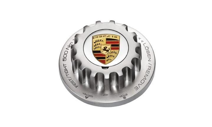 Porsche Crest Bottle Opener