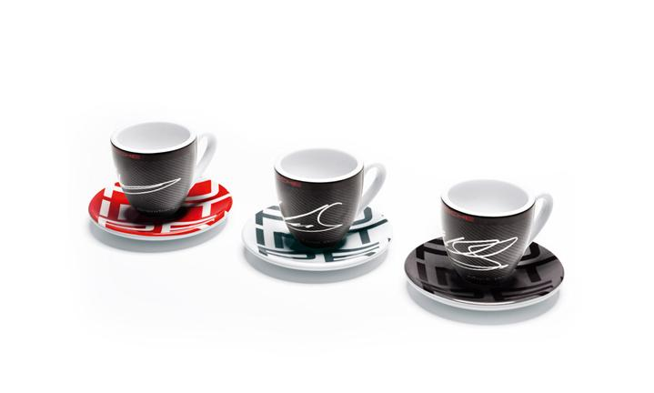 Espresso cups, set of 3 – Racing Collection