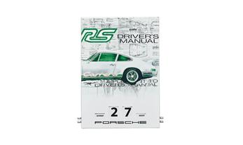 Porsche Emaille-Kalender - RS 2.7 Collection - Limited Edition