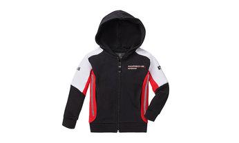 Kids' Motorsport Hoodie Sweat Jacket
