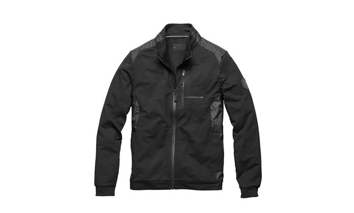 Porsche Men's Sweat Jacket in Black (Special Order Only)