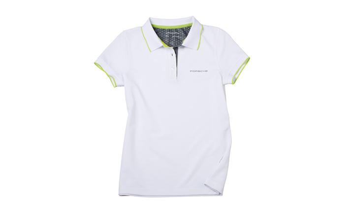 Ladies' Sport Polo Shirt in White