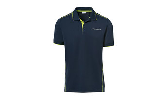 Men's Sport Polo Shirt in Navy Blue
