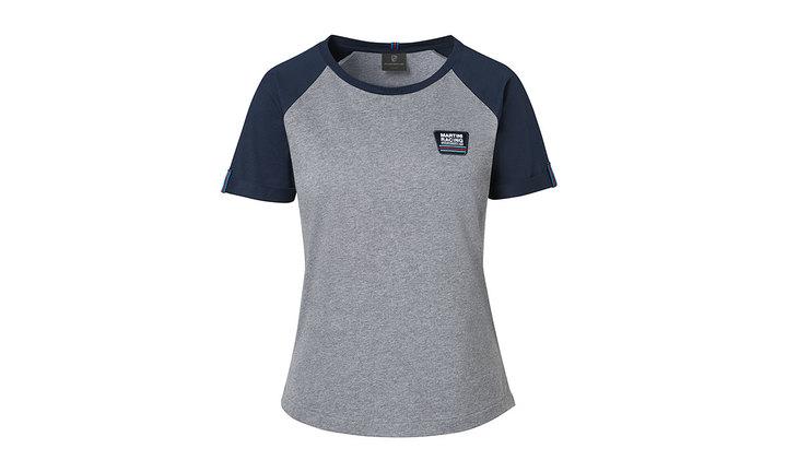 Martini Racing Ladies' T Shirt in Grey