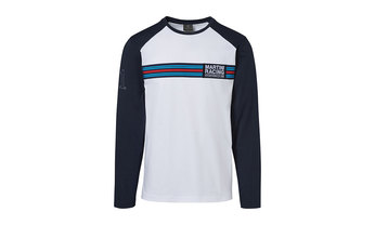 Martini Racing Men's Long Sleeved T Shirt in White