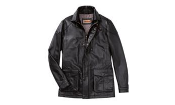 Men's leather jacket - Classic Collection