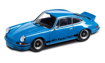 Porsche 911 RS 2.7, glasurblau, 1:43