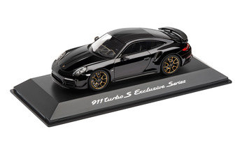 911 Turbo S, Exclusive Series, Schwarz, 1:43