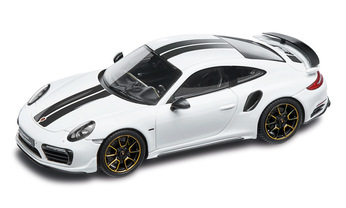 911 Turbo S Exclusive Series – Limited Edition; carraraweißmetallic; 1:43