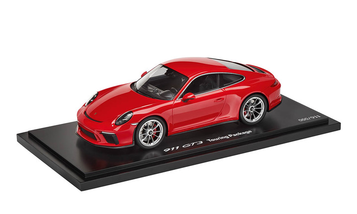 911 GT3 Touring Package, Indischrot, 1:18, Limited Edition