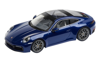 911 (992) C4S Coupé, gentian blue metallic, 1:18