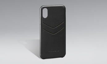 Snap-On Case Leder iPhone X