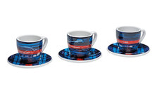 Espressotassen 3er Set – Limited Edition – MARTINI RACING