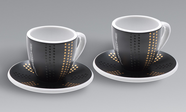 Espresso Cups, Set of Two - Limited Edition 911
