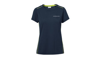 Women's T-shirt, dark blue – Sport