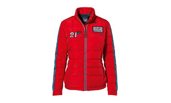 Martini Racing Collection, Quilted Jacket, Women, red