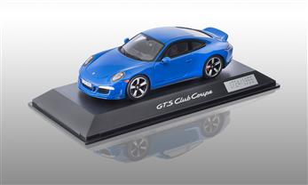 911 (991) GTS Club Coupe, Club Blue 1:43