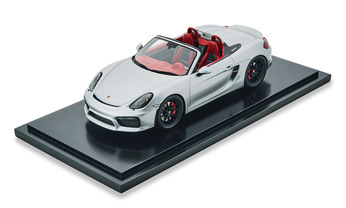 Boxster Spyder, silber, 1:18, Limited Edition