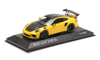 911 GT3 RS mit Weissach-Packet, Racinggelb, 1:43, Limited Edition