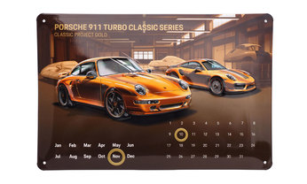 Blechkalender Project Gold