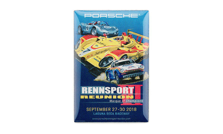Rennsport Poster Label Pin