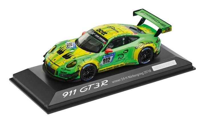 Limited Edition 1:43 Model Car | 911 GT3 R 2018 (Winner of the 24H Nürburgring)