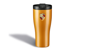 Porsche Thermal Flask in Golden Yellow