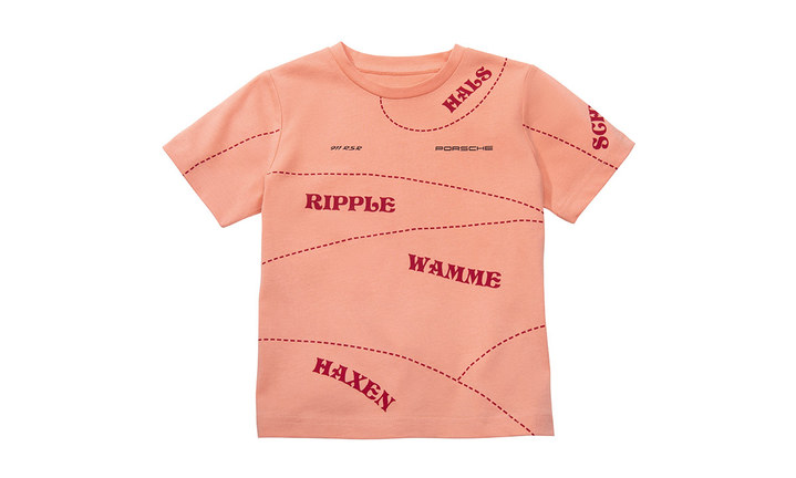 Motorsport Collection, T-Shirt, Pink Pig, Kids, salmon