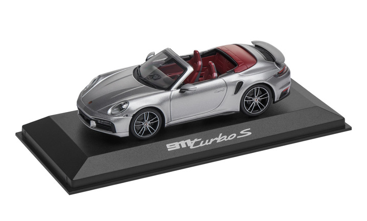 911 Turbo S Cabriolet 992, 1:43