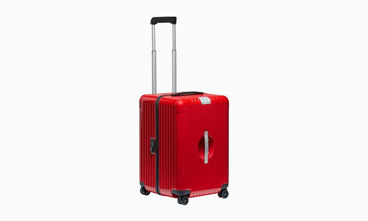 Rimowa x Porsche Guards Red XL Luggage