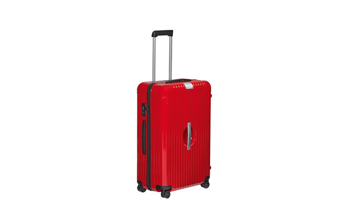 Rimowa x Porsche Guards Red XXL Luggage