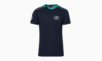 Martini Racing Men's T Shirt in Navy Blue
