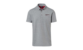 Men's Gray polo Motorsports Collection, Fanwear