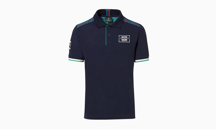 Martini Racing Men's Polo in Navy Blue