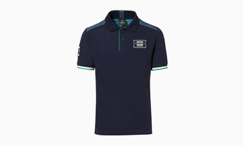 Martini Racing Men's Polo in Navy Blue