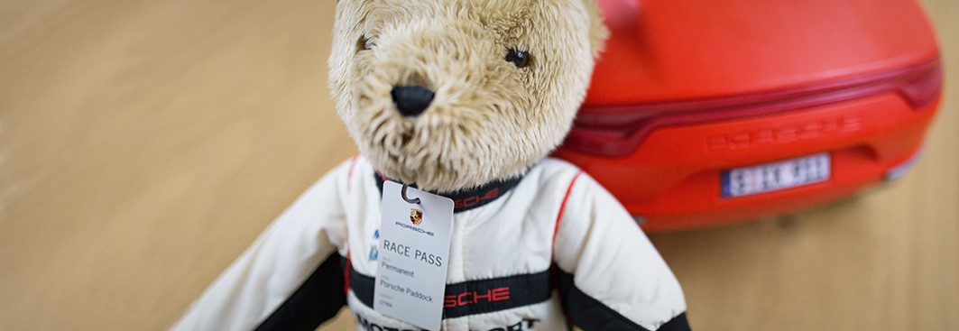 For Kids - Medium Porsche Motorsport Bear